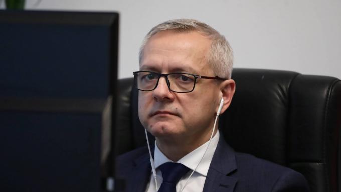 Sekretarz stanu w KPRM, pełnomocnik rządu do spraw cyberbezpieczeństwa Marek Zagórski;  fot. PAP/Tomasz Gzell