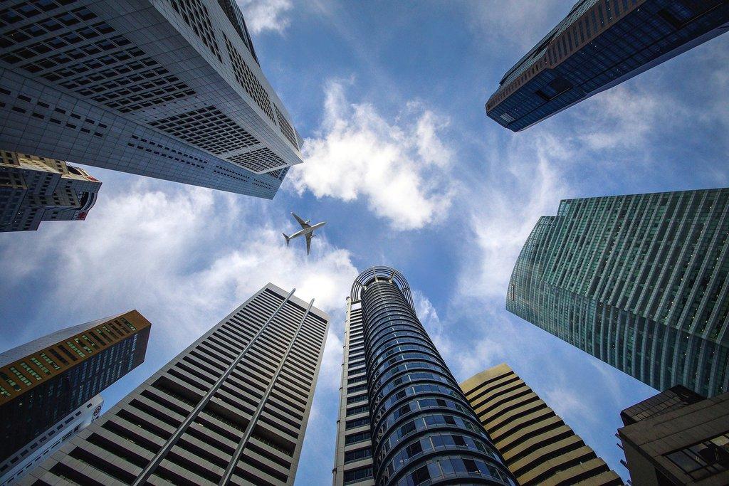 Drapacze chmur w Singapurze